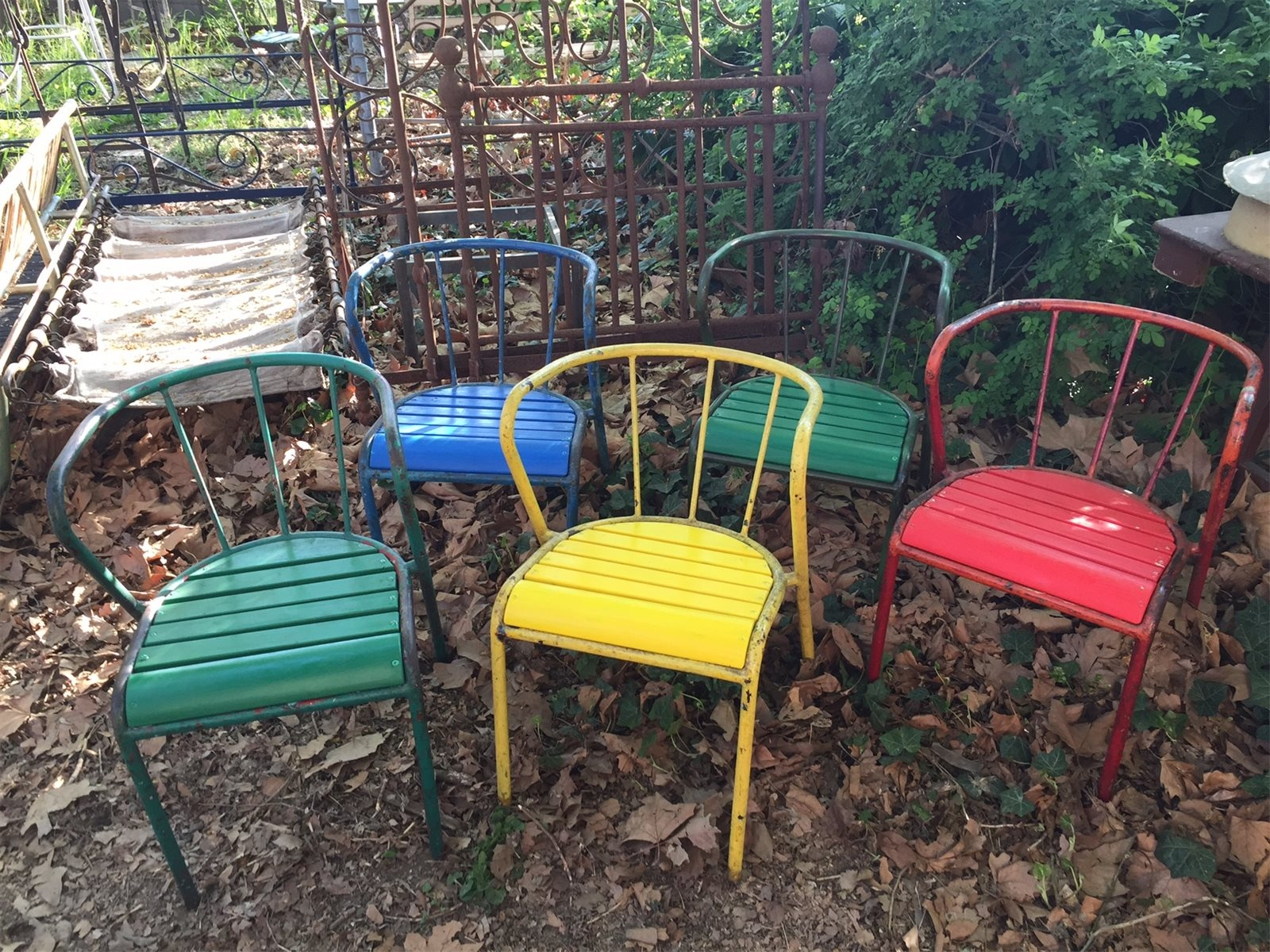 Sedie da giardino colorate | Freak Andò
